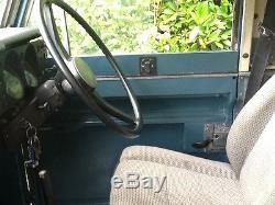 Land rover series 3 1973 109 original. 2.6 -6 cylinder petrol, tax exempt, smart