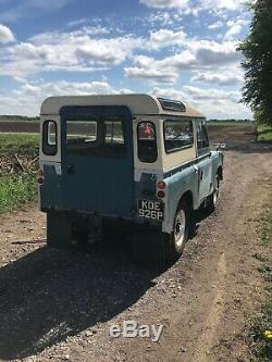 Land rover series 3 1976 diesel