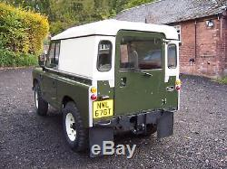 Land rover series 3. 1978