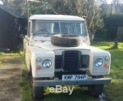 Land rover series 3 2.25 diesel