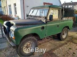 Land rover series 3 88, 1982