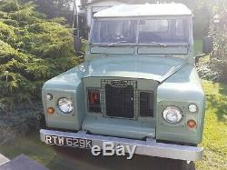 Land rover series 3 88 SWB 1972 classic cars