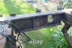 Land rover series 3 rolling chassis with logbook and vin plate
