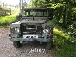 Landrover 109 Series 3 1974 Original with Galvanised Military Chassis