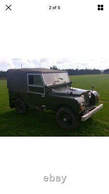 Landrover Series 1 86 inch 2.25 Diesel