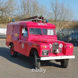 Landrover series 2a fire engine