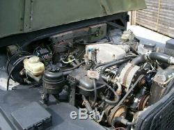 Lightweight Land Rover Series 3 V8 efi auto + power steering. Modern restoration