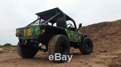 Mad Ford Rs Land Rover Lightweight Series 3 88 Road Legal Buggy Hot Rod Atv Rat
