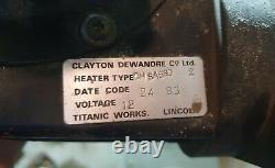 Original Land Rover Series 2/2a/3 Arctic Heater