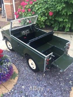 Original Toylander Land Rover Series 2 Electric Car For Kids / Children