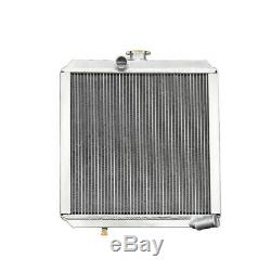 Race Aluminum Radiator fits Land Rover Series 3 4CYL 2A Diesel/Petrol 56MM