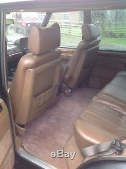 Range Rover Classic LSE 4.6 Overfinch 1993 LPG Land Rover Defender series PX