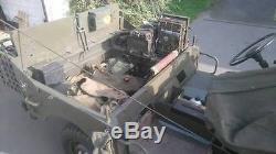 Rare 1952 Classic Land Rover Series One Belgium Military Blindee Minerva