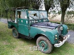Rare 1953 Series 1 One 80 LHD Gendarmarie Police Military Land Rover
