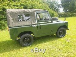 Rare 1959 Land Rover Series 2 SWB 88 2.25L Petrol Tax & MoT Exempt Ex Military