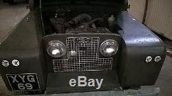 Rare 1959 Land Rover Series 2 (not 2A) 2.0L Diesel Tax & MOT Exempt NO RESERVE