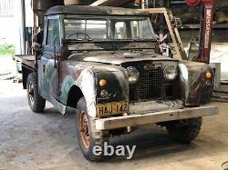Rare Classic Land Rover Series 2 Trayback for Restoration