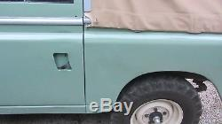 Refurbished 1978 Land Rover Series III Series 3