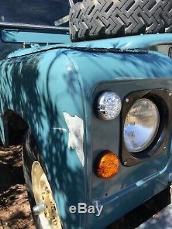 Renovated Land Rover Series 2A SWB Petrol Station Wagon 1963
