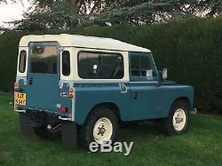 Restored Land Rover Series 3, 88 2.25 Diesel, 1982