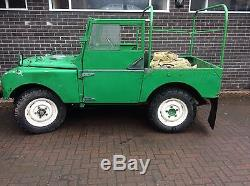 Series 1 Land Rover 80 inch