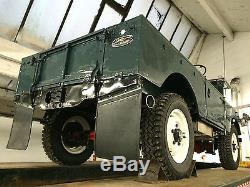 Series 1 Land rover 1956 86 military chassis plate RAF 3.5 Rover V8 auto