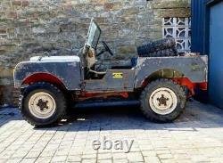 Series 1 landrover 80 inch