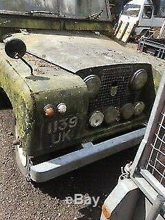 Series 2 Land Rover 88 Truck Cab. Original Condition. Parked Up Since Early 80's