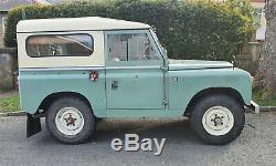 Series 2a Land Rover, 1964