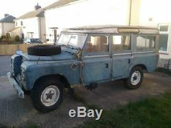 Series 3 safari wagon land rover