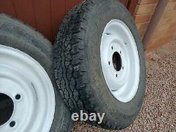 Series Land Rover Wheels