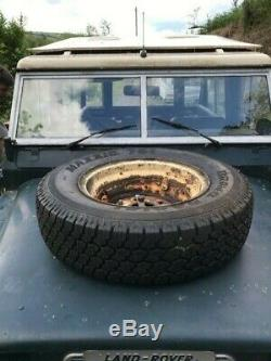 Series Land Rover with tropical roof. First Series 3 or last Series 2a 1970