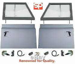 Series Style 2 Piece Front Door Tops Bottoms Kit For Land Rover Defender 90 110