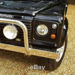 Stainless steel front BUMPER for Land Rover Defender Series 1/2/3 LRX chrome new