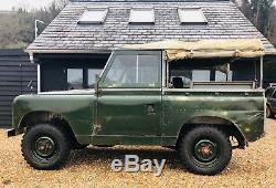 Stunning 1960 Land Rover Series 2