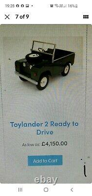 Toylander 2 Kids Ride On Land Rover Series 2 Totrod Ready To Be Enjoyed