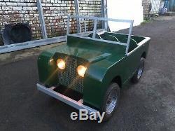 Toylander Land Rover Series 1 Child's toy Landrover 1/2 Size