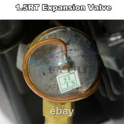 Universal 3-Speed 12V A/C 32 Pass Evaporator Compressor Air Conditioner 80W 15A