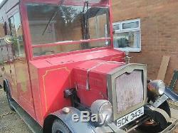 Vintage Coffee Van Land Rover Series 3 4wd