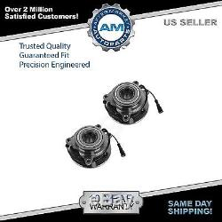 Wheel Bearing & Hub Front Pair Set of 2 for Land Rover Discovery Series II
