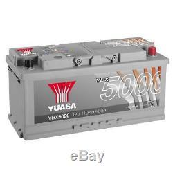 Yuasa YBX5020 12V Silver 020 Series Car Battery